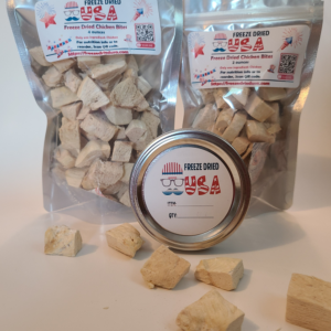 product image for freeze-dried chicken bites